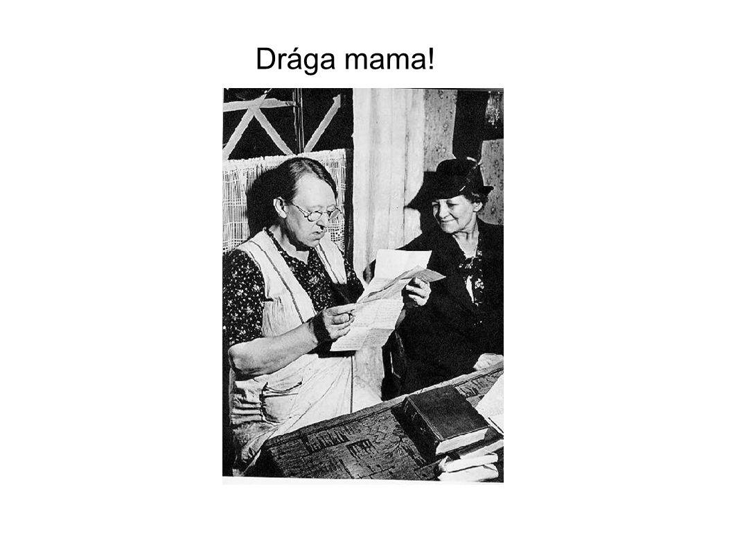 Drága mama!