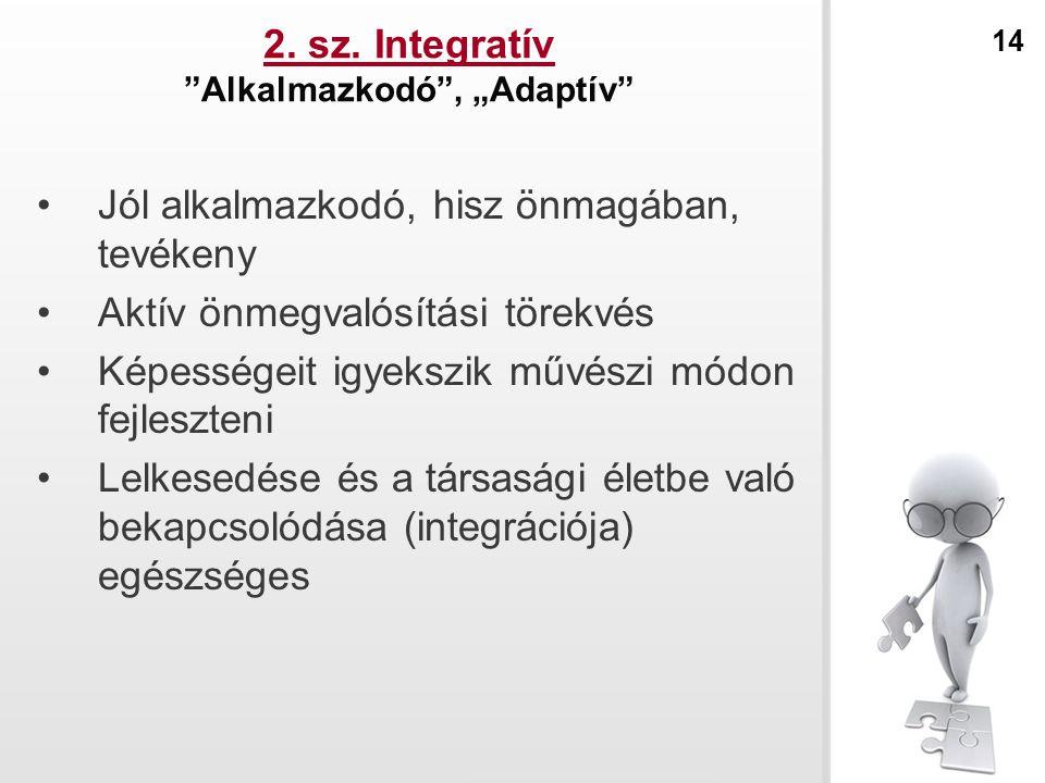 """2. sz. Integratív Alkalmazkodó , """"Adaptív"""