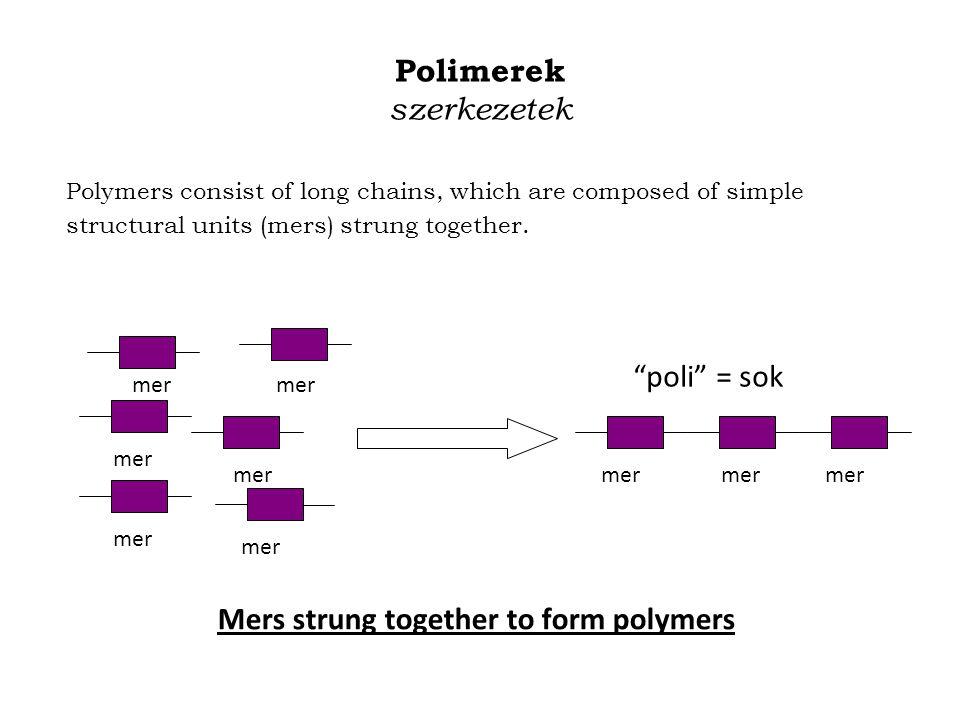 Polimerek szerkezetek