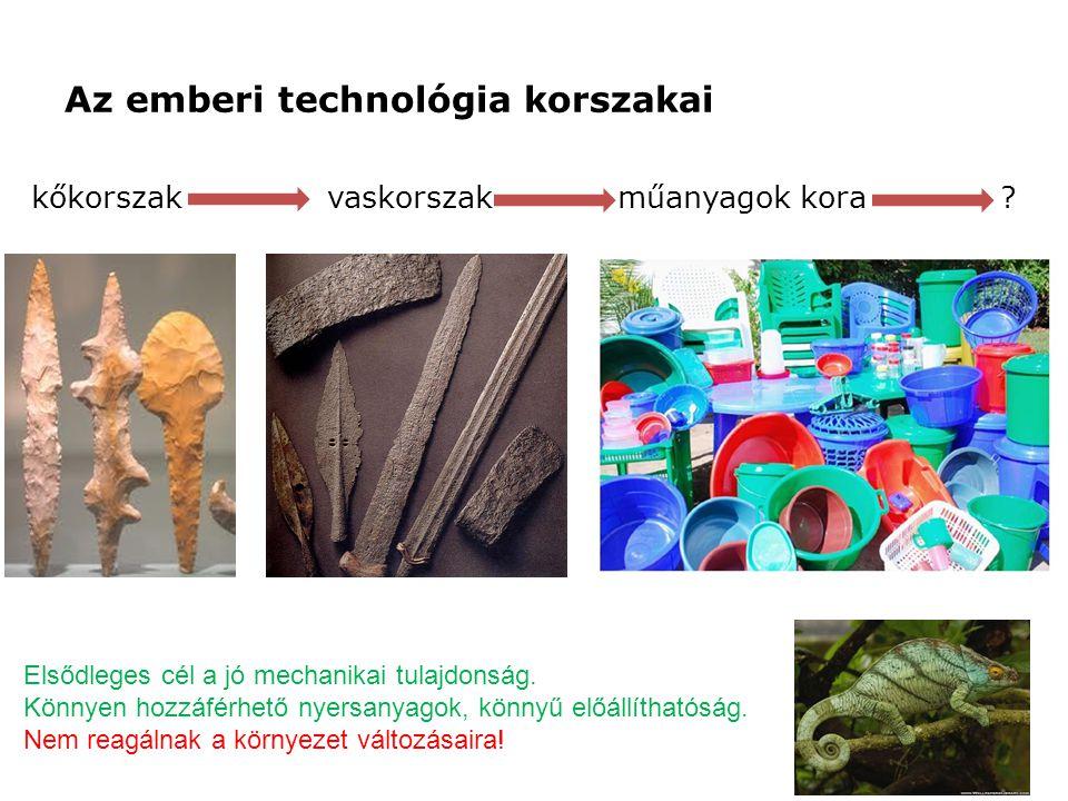 Az emberi technológia korszakai