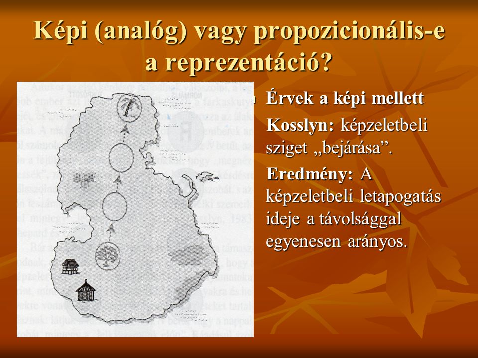 Képi (analóg) vagy propozicionális-e a reprezentáció
