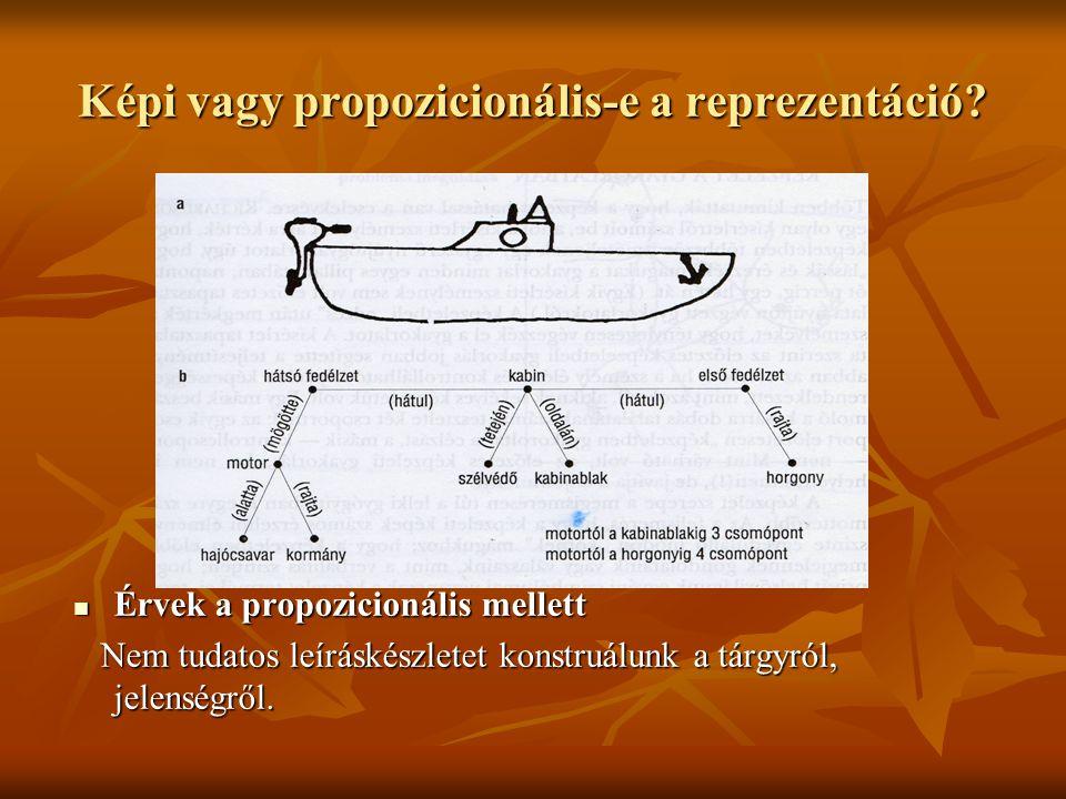 Képi vagy propozicionális-e a reprezentáció