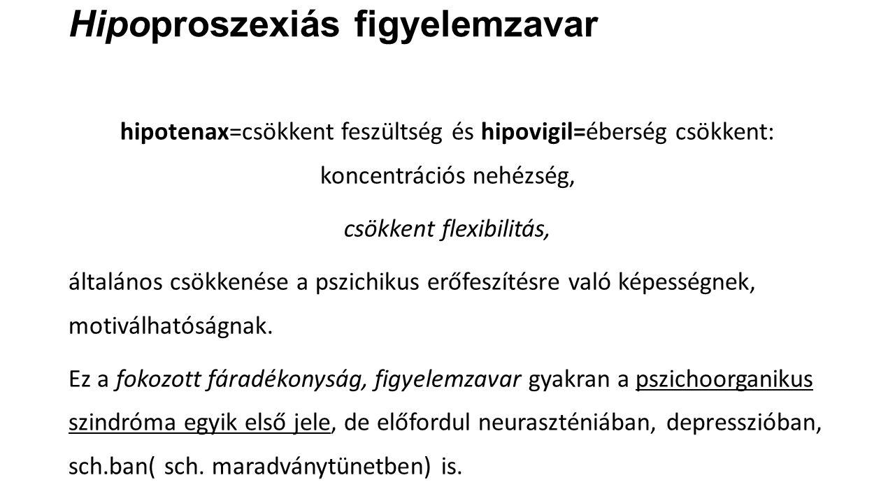 Hipoproszexiás figyelemzavar