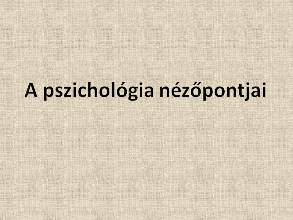 A pszichológia nézőpontjai