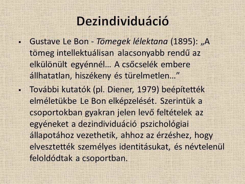 Dezindividuáció