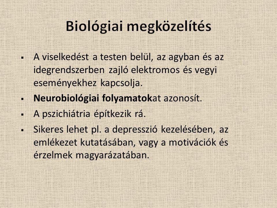 Biológiai megközelítés