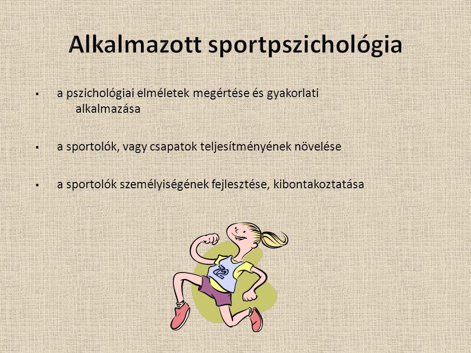 Alkalmazott sportpszichológia