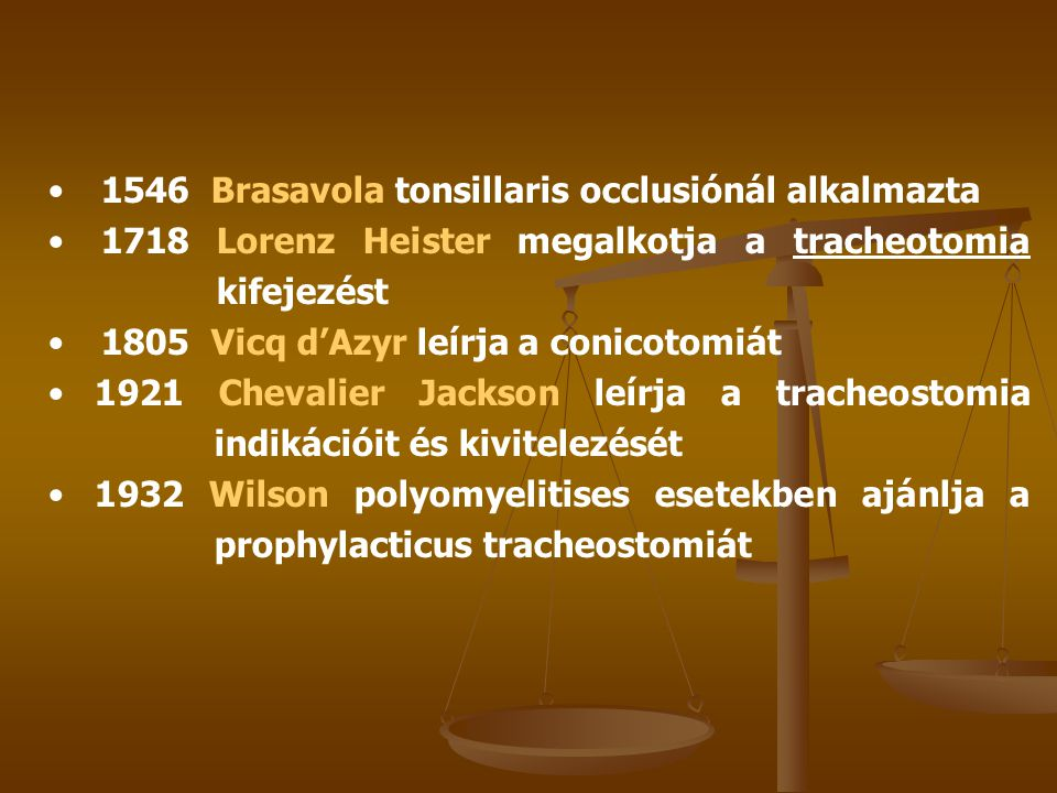 1546 Brasavola tonsillaris occlusiónál alkalmazta
