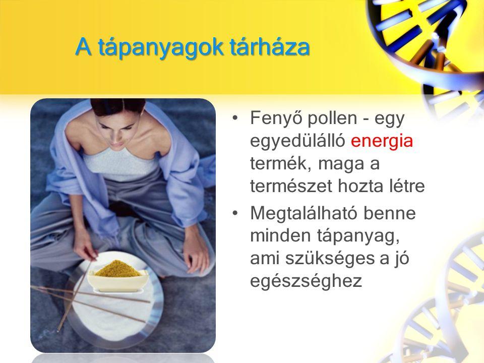 A tápanyagok tárháza Fenyő pollen - egy egyedülálló energia termék, maga a természet hozta létre.