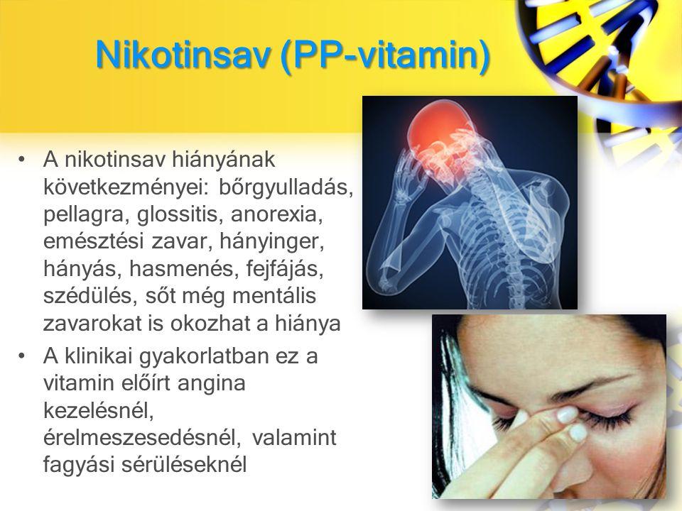 Nikotinsav (PP-vitamin)