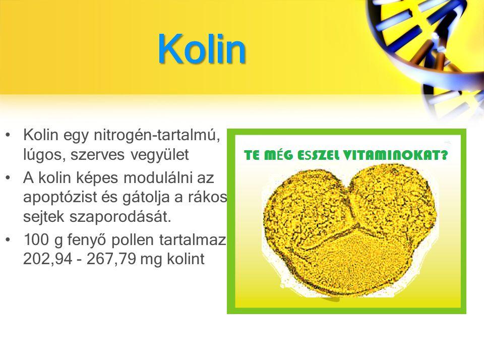 Kolin Kolin egy nitrogén-tartalmú, lúgos, szerves vegyület