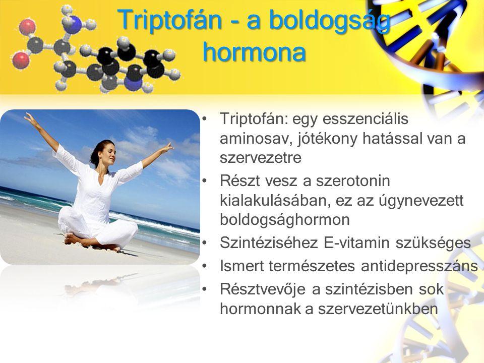 Triptofán - a boldogság hormona