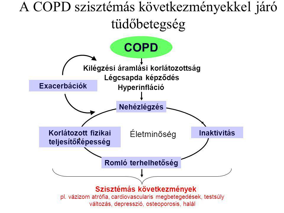 A COPD szisztémás következményekkel járó tüdőbetegség