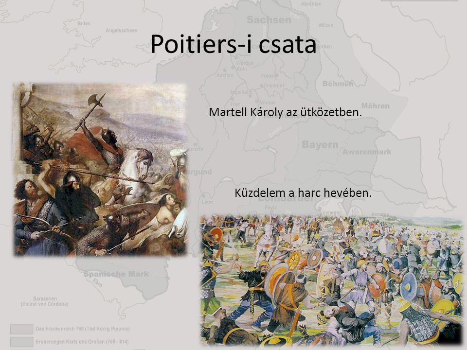 Poitiers-i csata Martell Károly az ütközetben.