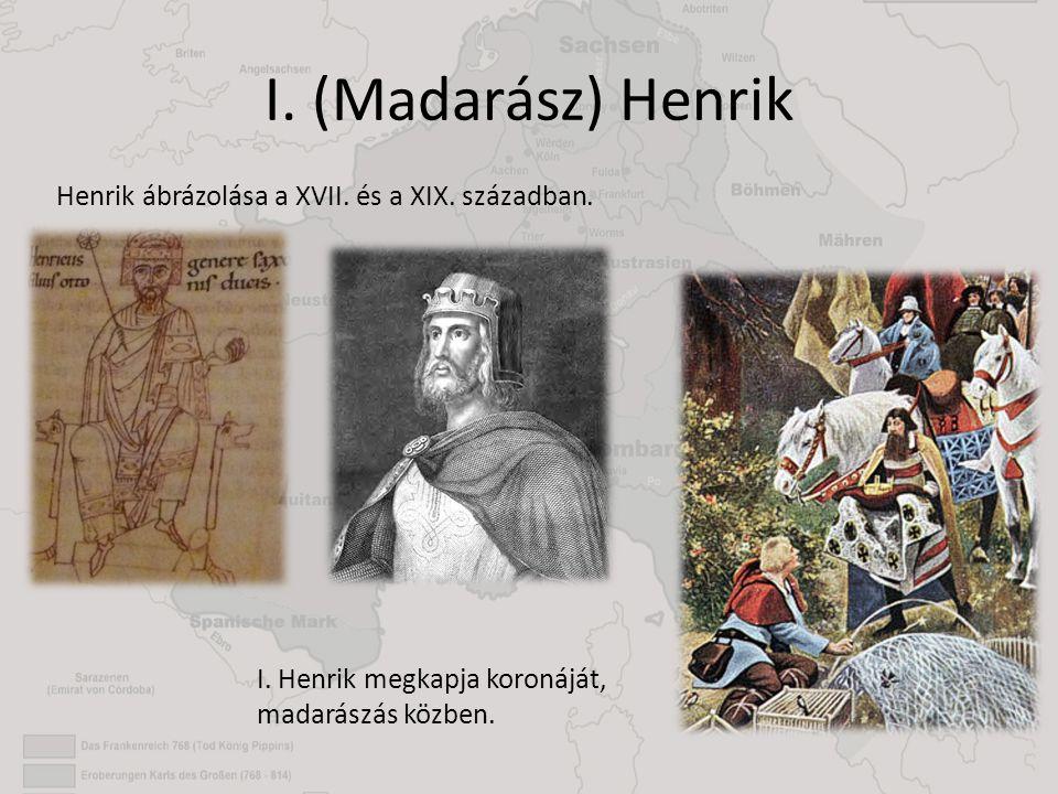 I. (Madarász) Henrik Henrik ábrázolása a XVII. és a XIX. században.