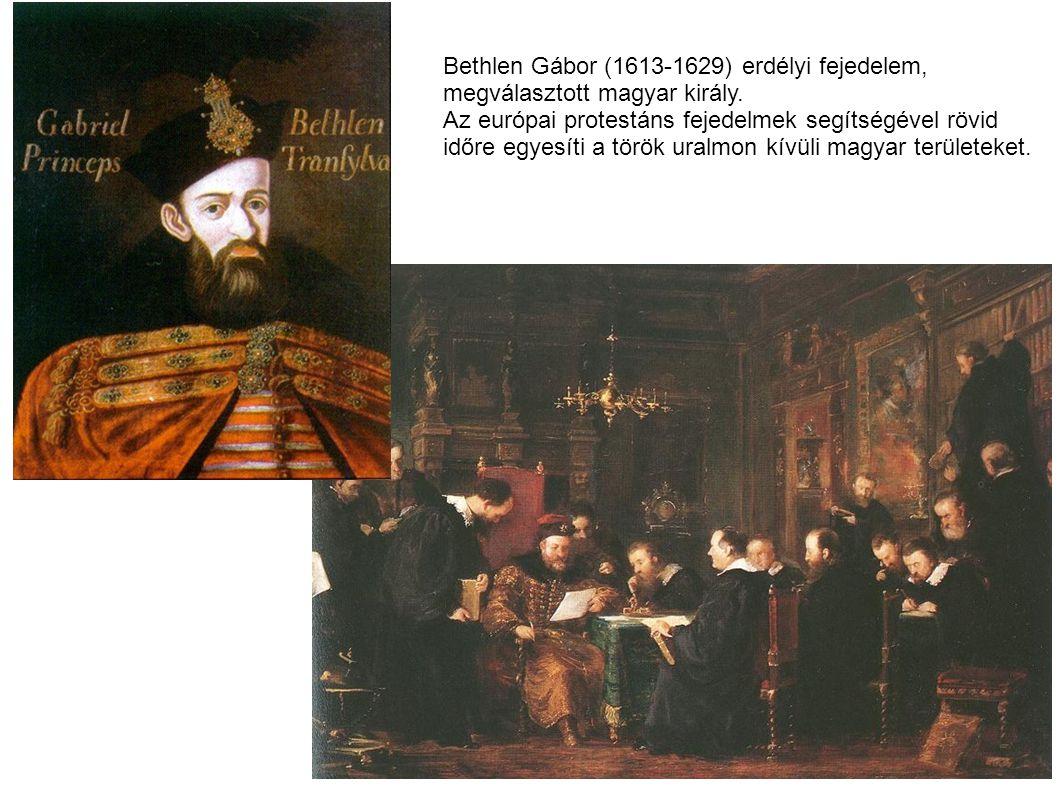 Bethlen Gábor (1613-1629) erdélyi fejedelem,