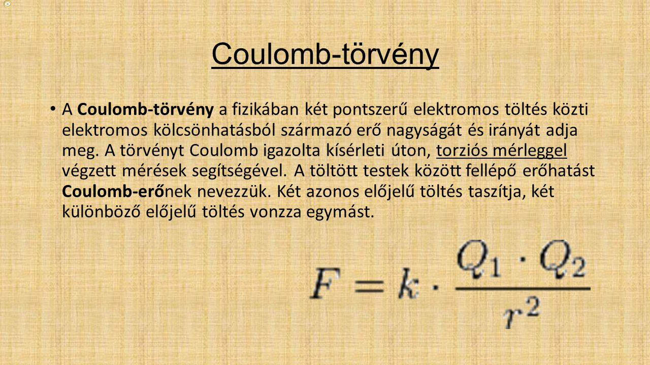 Coulomb-törvény