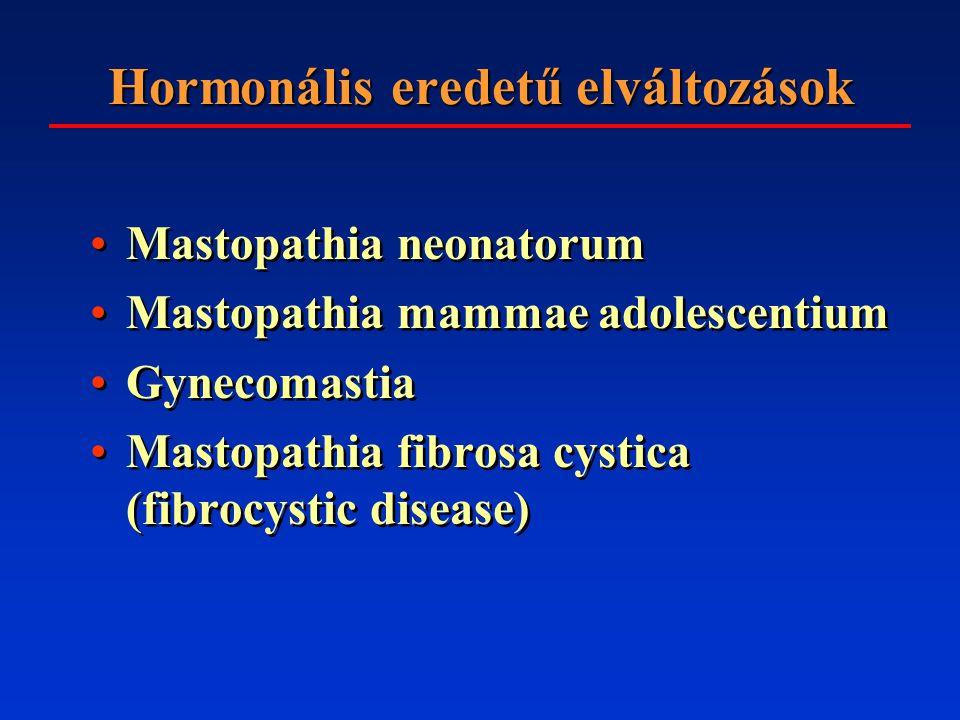 Hormonális eredetű elváltozások