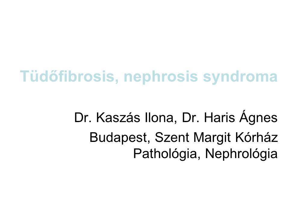 Tüdőfibrosis, nephrosis syndroma