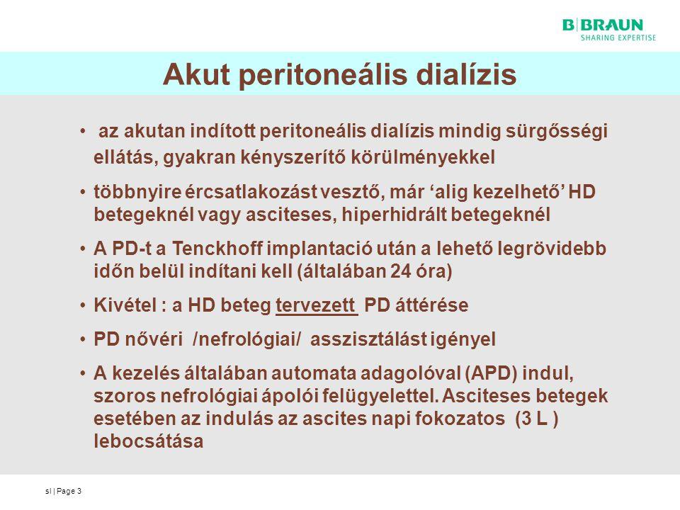 Akut peritoneális dialízis