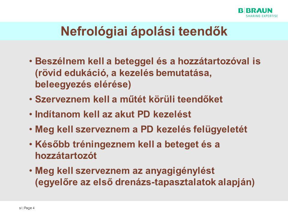 Nefrológiai ápolási teendők