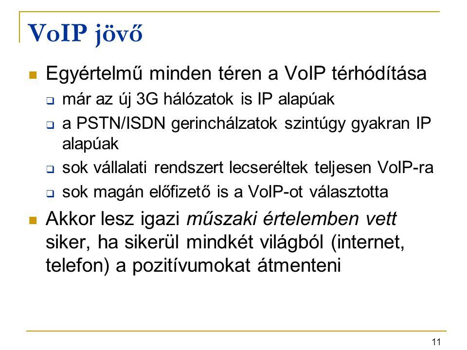 VoIP jövő Egyértelmű minden téren a VoIP térhódítása