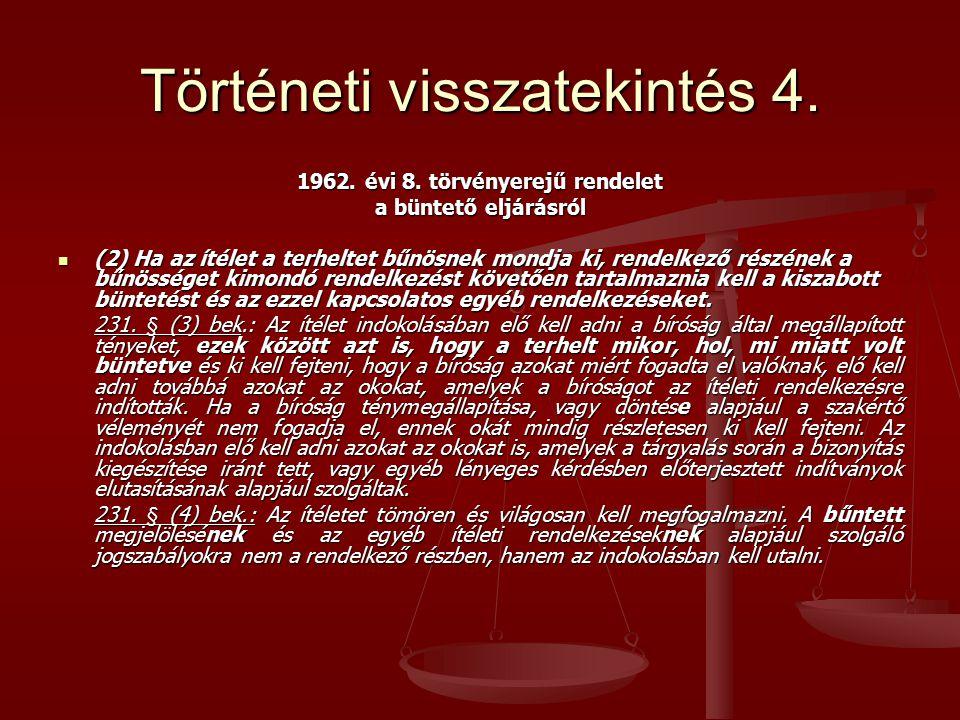 Történeti visszatekintés 4.