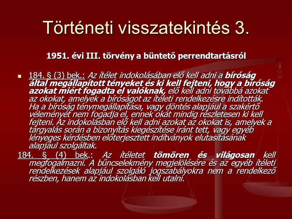 Történeti visszatekintés 3.