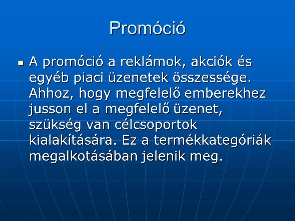 Promóció