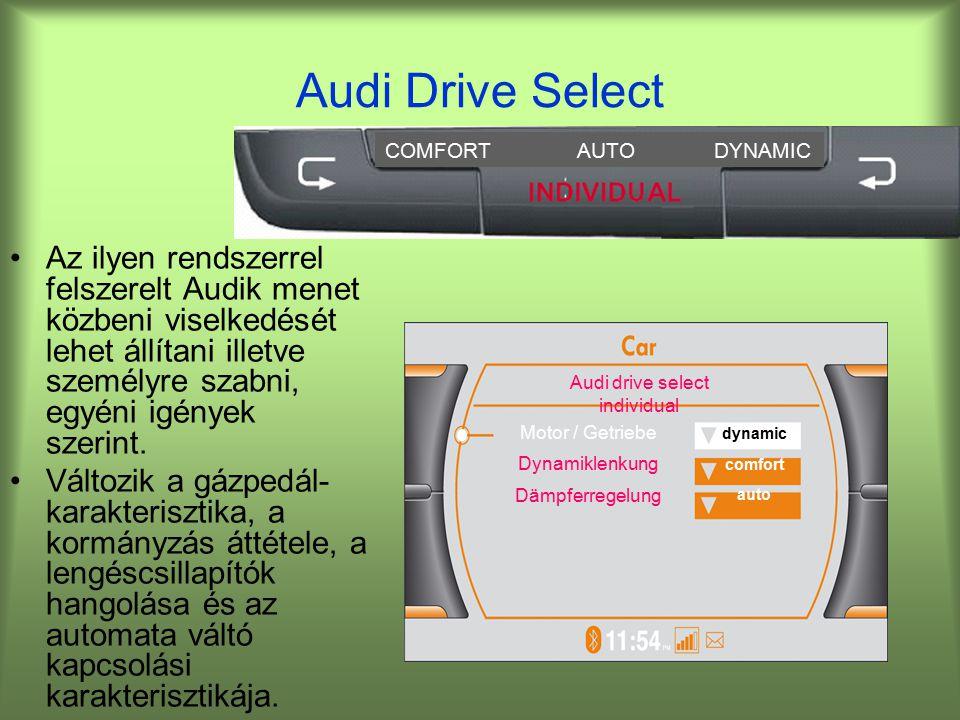 Audi drive select individual