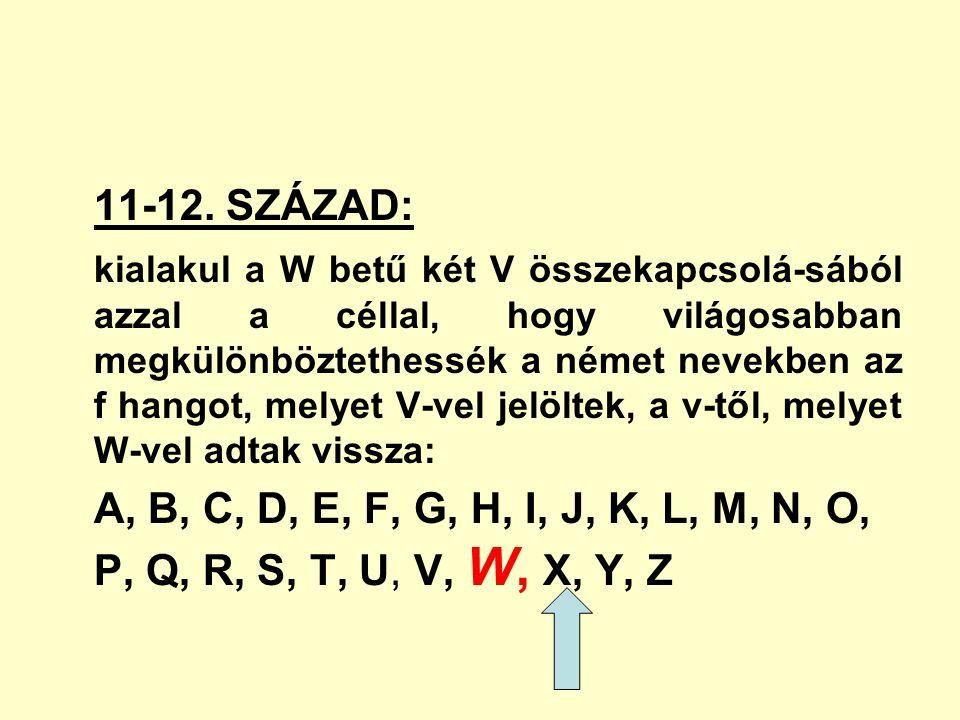 11-12. SZÁZAD: