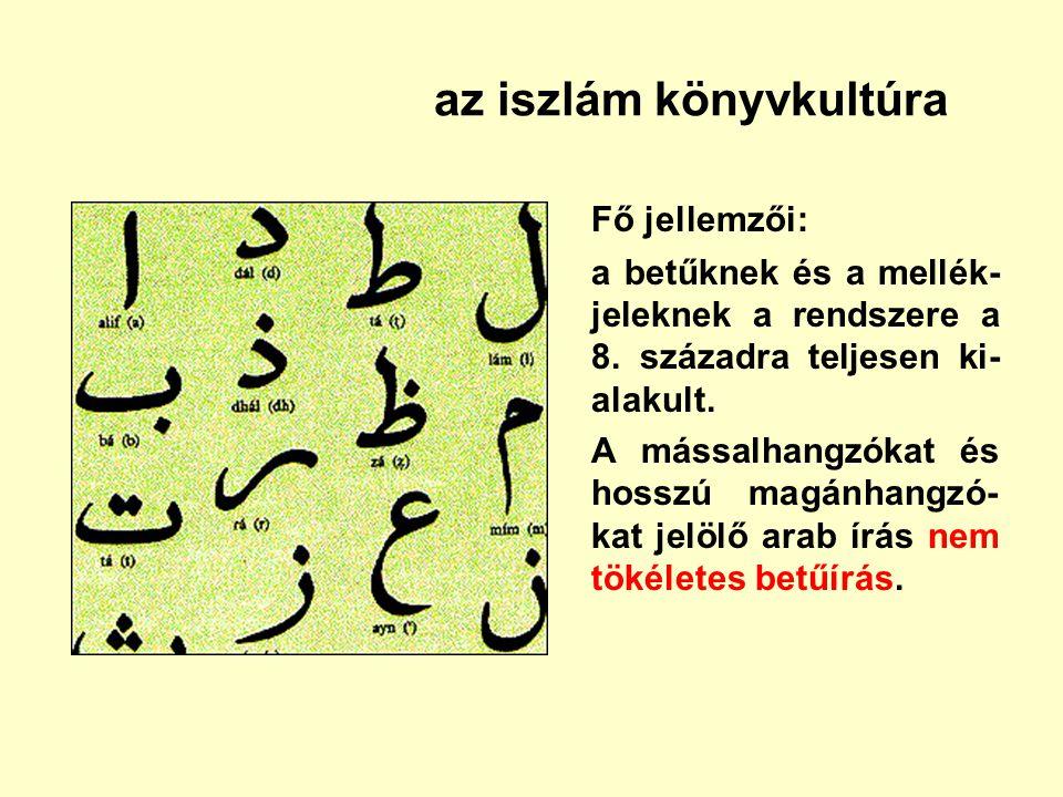 az iszlám könyvkultúra