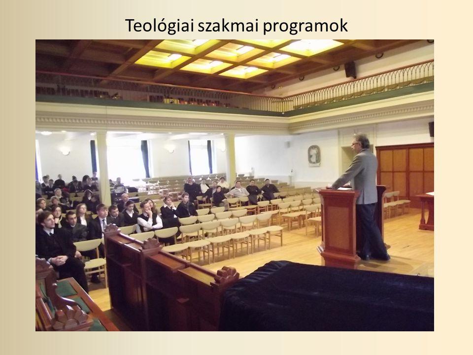 Teológiai szakmai programok