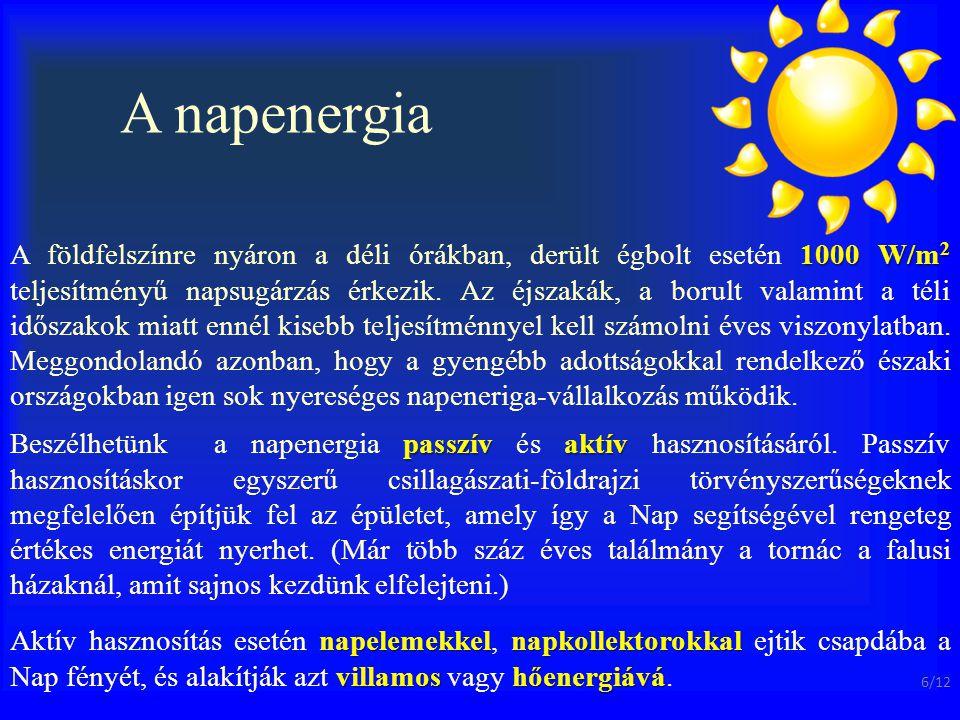 A napenergia