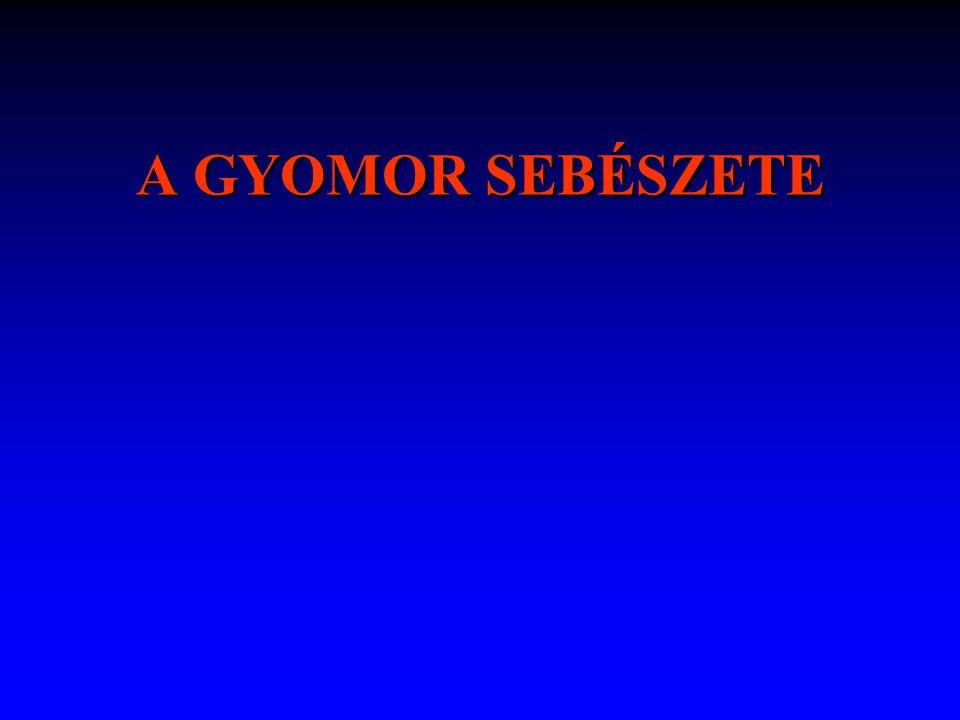 A GYOMOR SEBÉSZETE