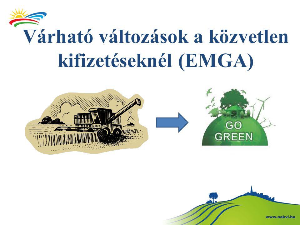Várható változások a közvetlen kifizetéseknél (EMGA)