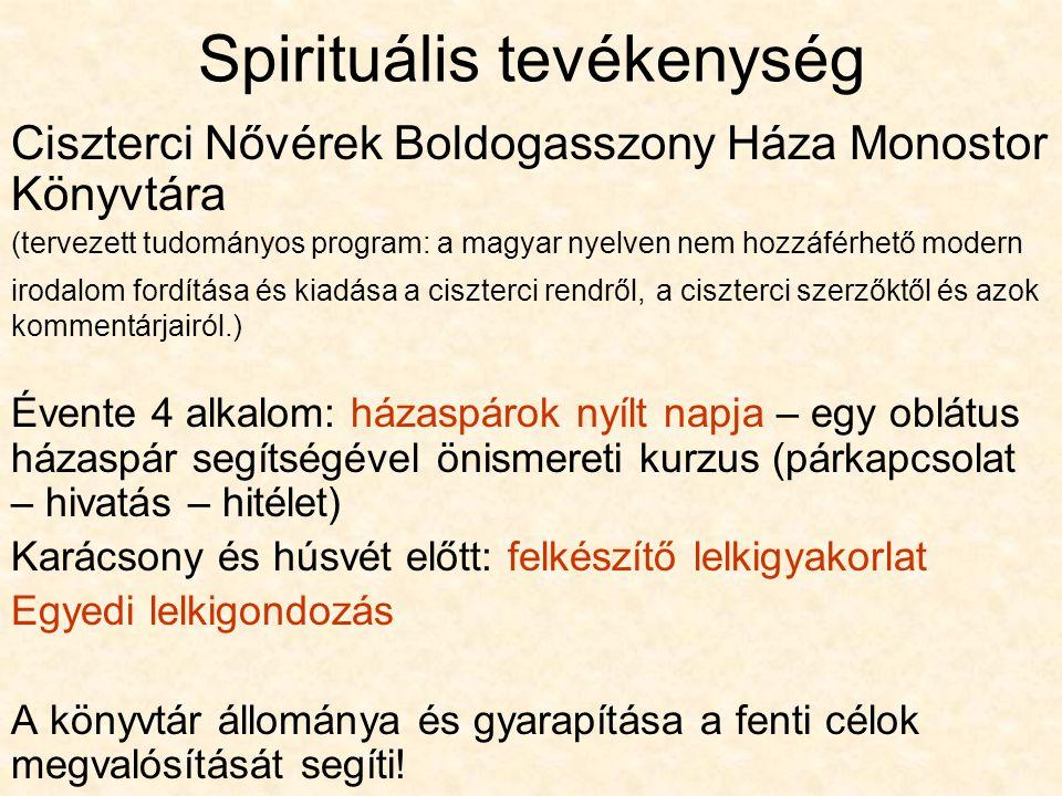 Spirituális tevékenység