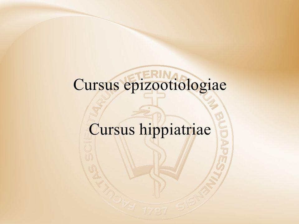 Cursus epizootiologiae
