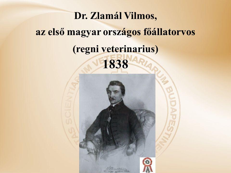 az első magyar országos főállatorvos