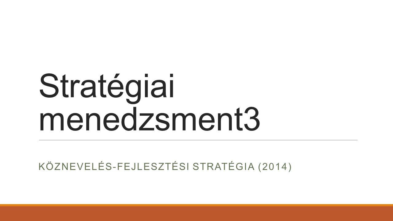 Stratégiai menedzsment3