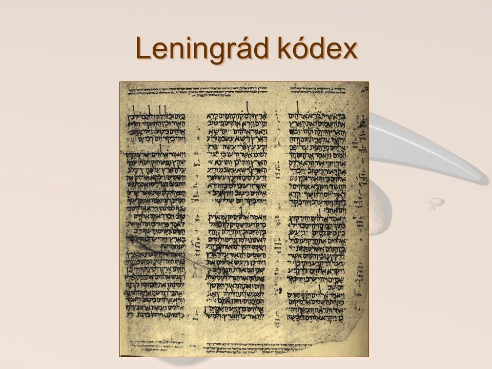 Leningrád kódex