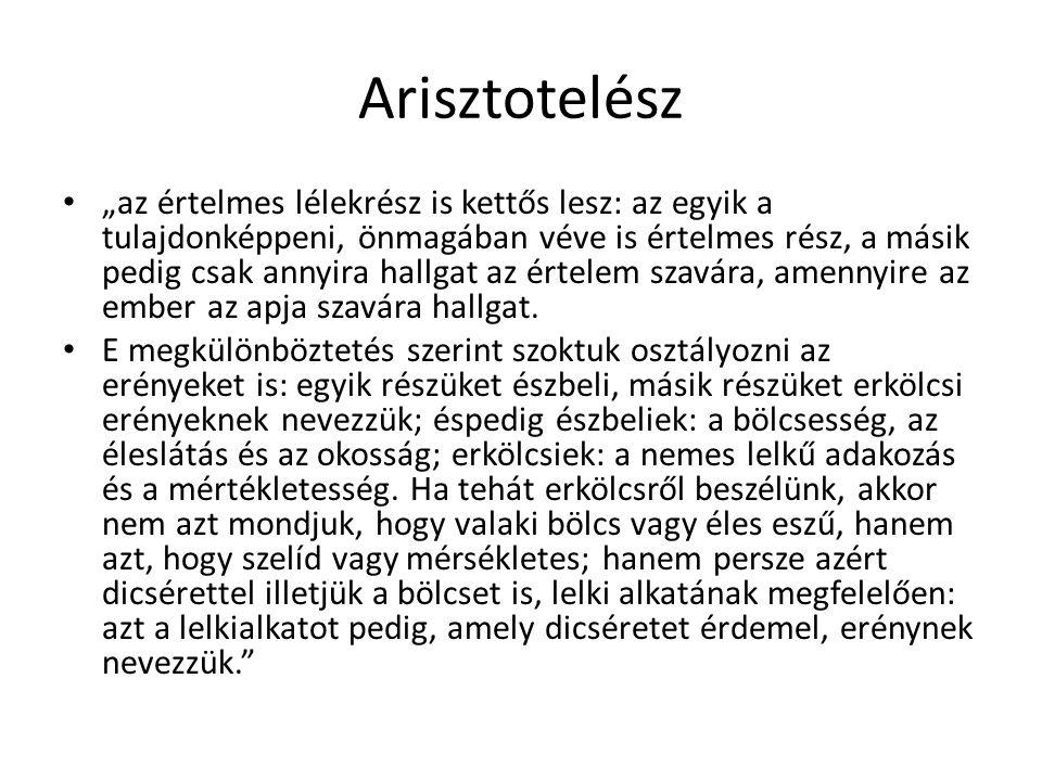 Arisztotelész