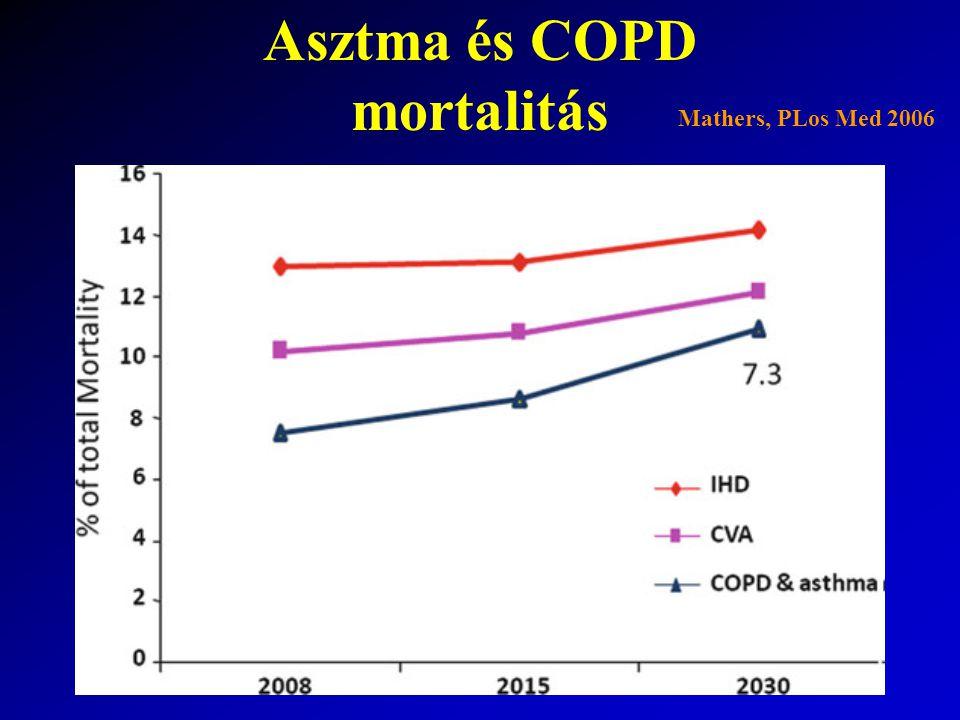 Asztma és COPD mortalitás