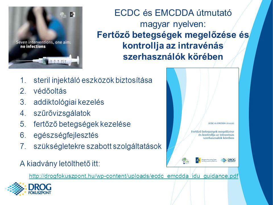 ECDC és EMCDDA útmutató