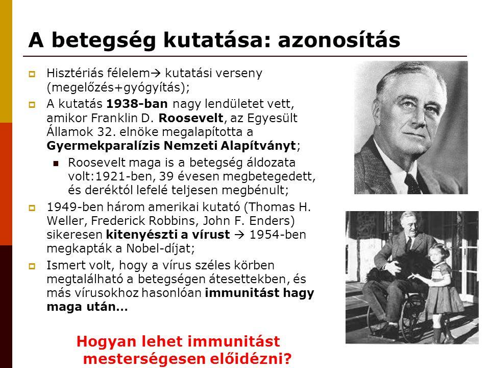 A betegség kutatása: azonosítás