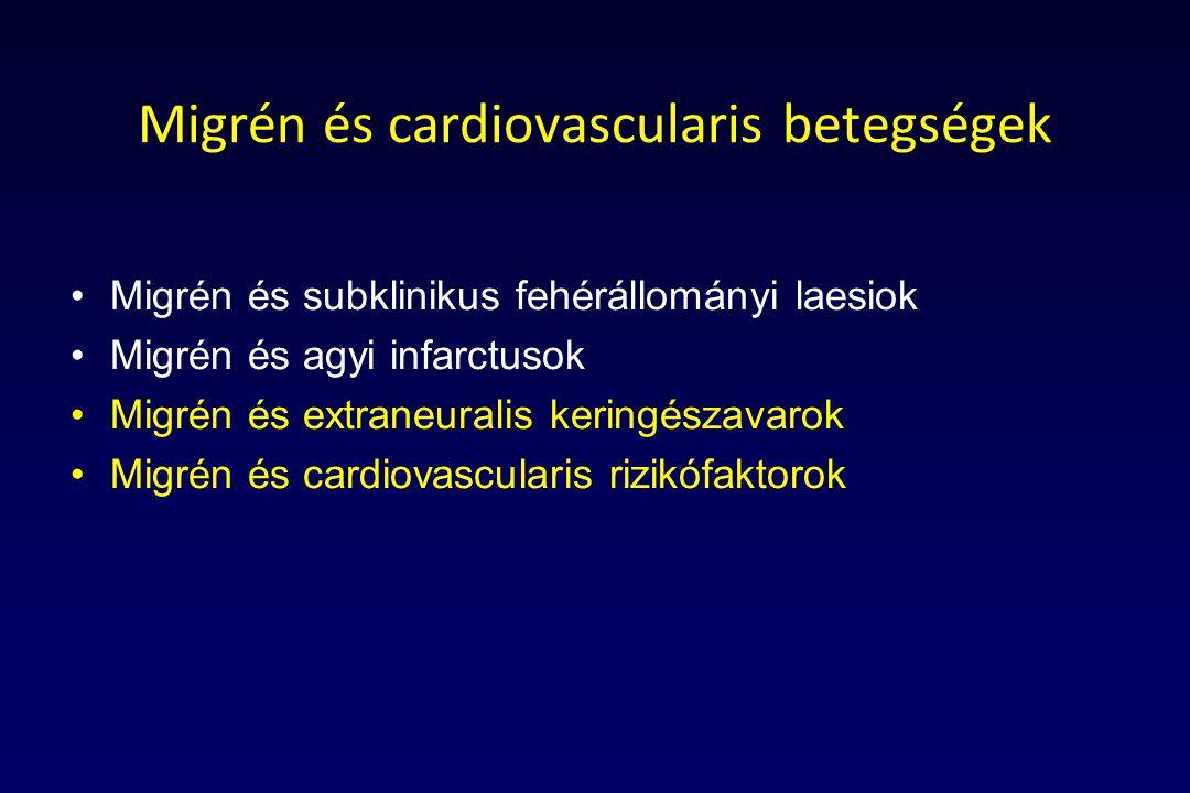 Migrén és cardiovascularis betegségek