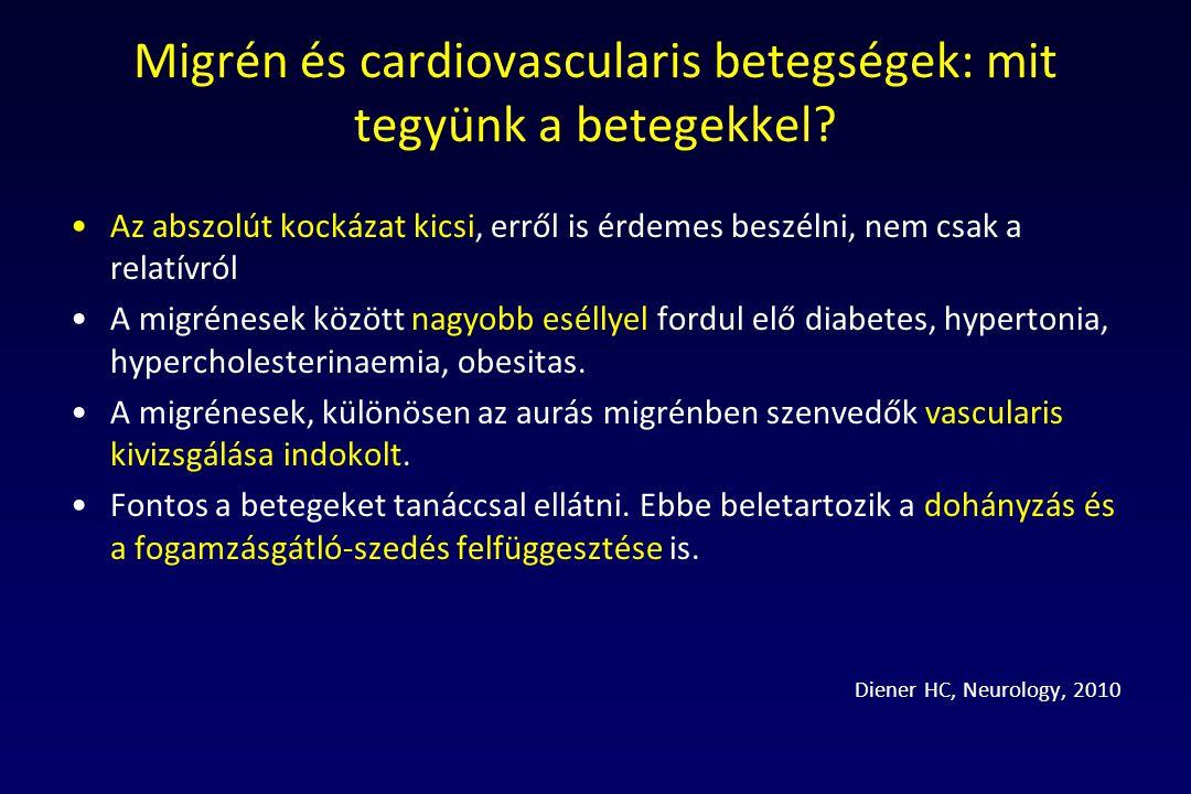 Migrén és cardiovascularis betegségek: mit tegyünk a betegekkel
