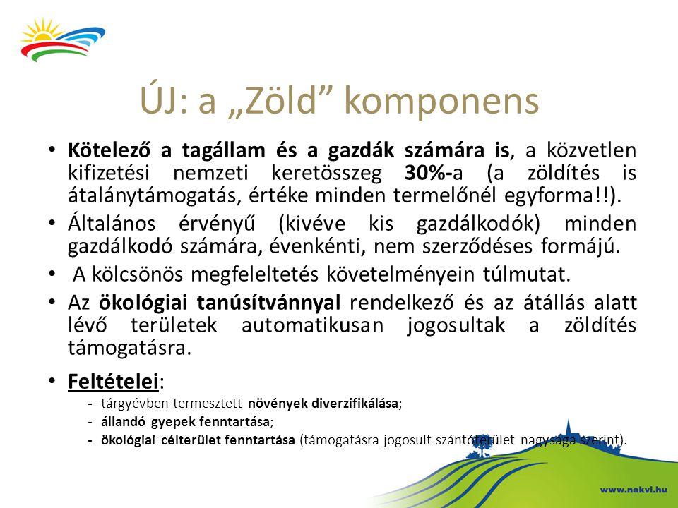 """ÚJ: a """"Zöld komponens"""