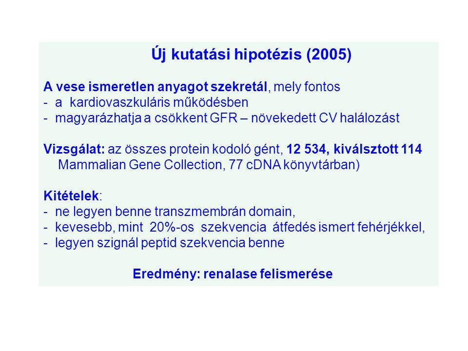 Új kutatási hipotézis (2005)