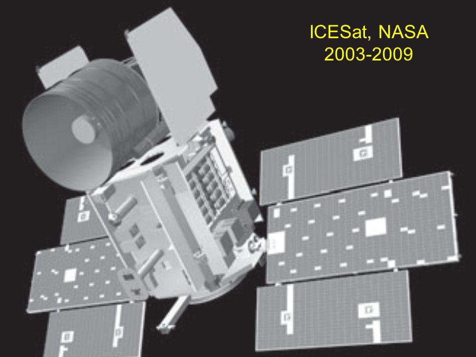 ICESat, NASA 2003-2009